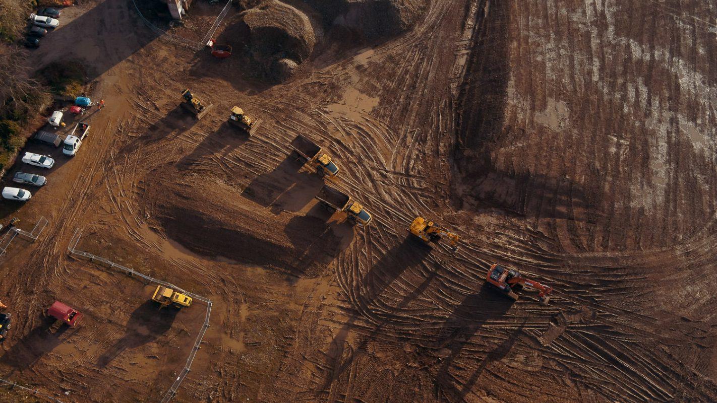 aerial construction machines